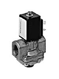 Brass and aluminium valves - MA 142-001 - 2-way solenoid valve, direct actuated, NO (normally open)