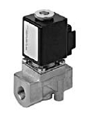 Gas valves - MA 233-022 - 2-way solenoid valve, direct actuated, NC (normally closed)