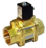 Servo valves - MG 102-001 - 2-way solenoid valve, servo actuated, NO (normally open)