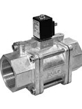 Servo valves - MG 102-003 - 2-way solenoid valve, servo actuated, NO (normally open)