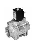 Servo valves - MG 172-002 - 2-way solenoid valve, servo actuated, NO (normally open)