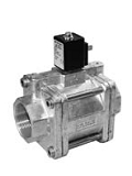 Servo valves - MG 202-002 - 2-way solenoid valve, servo actuated, NC (normally closed)