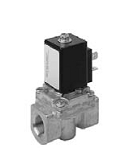 Servo valves - MG 232-001 - 2-way solenoid valve, servo actuated, NC (normally closed)