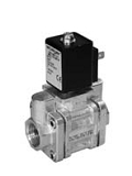 Servo valves - MG 252-009 - 2-way solenoid valve, servo actuated, NC (normally closed)
