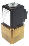 Proportional valves - MP 203-015 - 2-way solenoid valve, direct actuated, NC (normally closed), with bellow separating