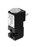Plastic valves - PA 300-002 - 3-way solenoid valve, direct actuated, NC (normally closed)