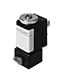 Plastic valves - PA 301-012 - 2-way solenoid valve, direct actuated, NC (normally closed), with diaphragm separation