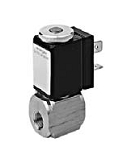 Stainless Steel Valves - VA 221-014 - 2-way solenoid valve, direct actuated, NC (normally closed)