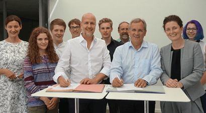 Lichtenstern Gymnasium becomes new education partner