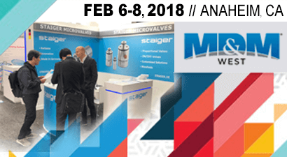 Visit us on MD&M West 2018 in Anaheim, USA!
