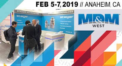 Staiger @ MD&M West 2019