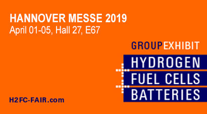 Staiger@H2FC at Hannover Messe 2019!